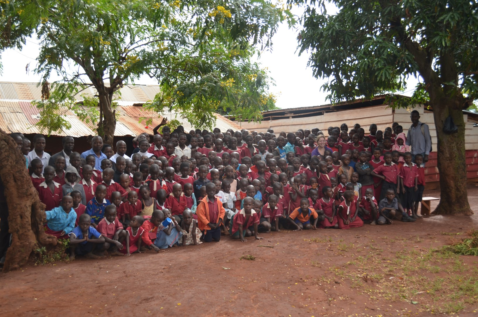 Leerlingen en docenten Busaana